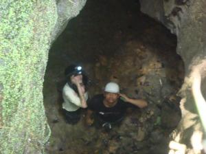 Lubang gua vertikal..kerenn...