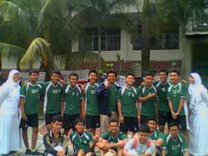 Team Bola Voli putera SMA plus YPHB