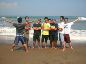 Di pelabuhan Ratu - - Sukabumi
